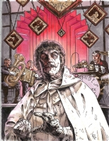 Seth Frail - The Abomidable Dr. Phibes  Comic Art