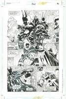 Kelley Jones - Batman #525 - Page 21 (w. Mr. Freeze) Comic Art