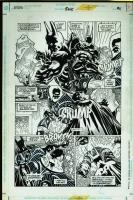 Kelley Jones - Batman #525 - Page 21 (w. Mr. Freeze) Comic Art