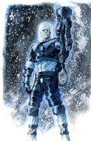 Philip Tan - Mr. Freeze Comic Art