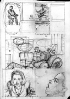 Batman Black & White - Issue 3 - Page 3 � Preliminary sketch Comic Art