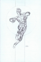 Gil Kane: Green Lantern pencil drawing Comic Art