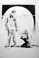 Jordi Bernet�s Gilda and Torpedo Comic Art
