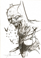 Batman zombie. Tommy Castillo Comic Art