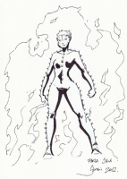 Rachel Summers Comic Art