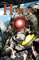 Horsemen #2, Comic Art