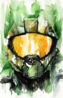 Master Chief, Comic Art