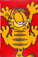DAVIS Jim & KUHN Dave - Garfield - toile #80 - 60x90 cm or 24  x 36  Comic Art