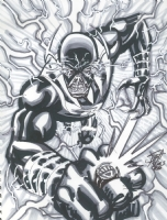Black Lantern Zoom - Scott Kolins Comic Art