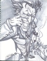 The Joker - Scott Kolins Comic Art