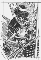 Rorschach Commission Rough - Scott Kolins Comic Art
