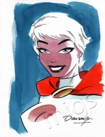 Power Girl by Darwyn Cooke, Comic Art