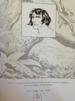 Joe Kubert Limited Signed, Numbered and Remarqued IDW Tarzan Artist's Edition Comic Art