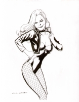 Kevin Nowlan Black Canary Comic Art