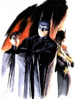 Alex Ross Batman Family Comic Art