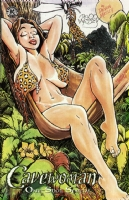 Cavewoman One-Shot Special Cover Comic Art