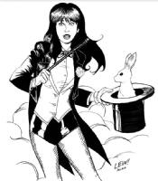 Zatanna by Lew Smith and Amanda McLane  Comic Art