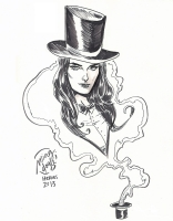 Zatanna by Ming Doyle Comic Art