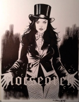 Zatanna by Wilfredo Torres Comic Art