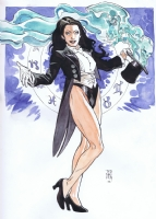 Zatanna by Ted Naifeh Comic Art