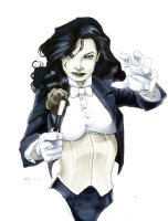 Zatanna by Ricard Cox Comic Art