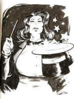 Zatanna by Jeff Stokely  Comic Art