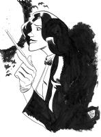 Zatanna by Ryan Cody Comic Art