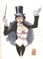 Zatanna by Derec Donovan Comic Art