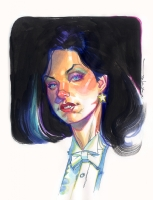 Zatanna by Brian Stelfreeze Comic Art