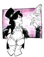 Zatanna by Joelle Jones Comic Art