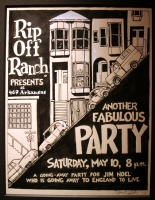 Rip Off Ranch Party Poster Comic Art