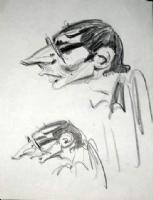 ANDRE FRANQUIN / AUTOPORTRET Comic Art