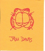 Garfield - Jim Davis Comic Art