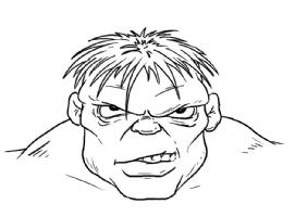 Jeff Purves Commission Sample #2 Comic Art