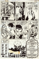 Amazing Spider-Man #99, Page 20 Comic Art