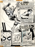 Superman vs Spider-man: Spidey's Origin Page Comic Art