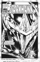 Darkhawk Annual #3 Cover by Tod Smith & Andy Lanning Comic Art