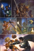 Army of Darkness Comic Art