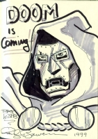 Dr Doom Comic Art