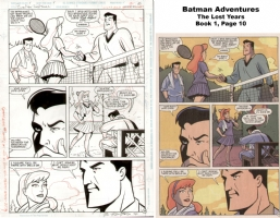 Batman Adventures: The Lost Years - Book 1, Page 10 Comic Art