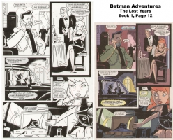 Batman Adventures: The Lost Years - Book 1, Page 12 Comic Art
