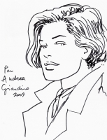 Giardino - La Met� Seducente Sketch Comic Art