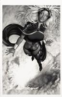 Storm - Aype Beven Comic Art