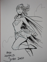 Supergirl by Jordi Bayarri Comic Art