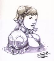 Chun Li Comic Art