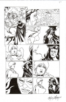 Kevin Maguire Powergirl & Huntress Page Comic Art