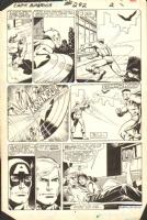 Captain America #292 pg 2 Comic Art
