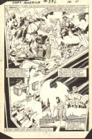 Captain America #292 pg 8 Comic Art