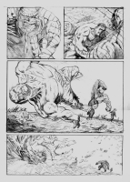 Hulk vs Abomination Page 1 - Pitch piece Comic Art