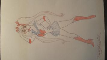 Sailor Mandy Moon by Dean Yeagle Comic Art